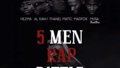 Hezma X Al Kan i X Thanel Matic X MadFox Musa 5 Men Rap Battle