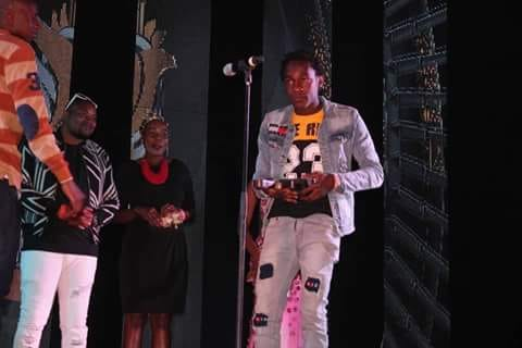 Muzo Aka Alphonso at the Kwacha Music Awards